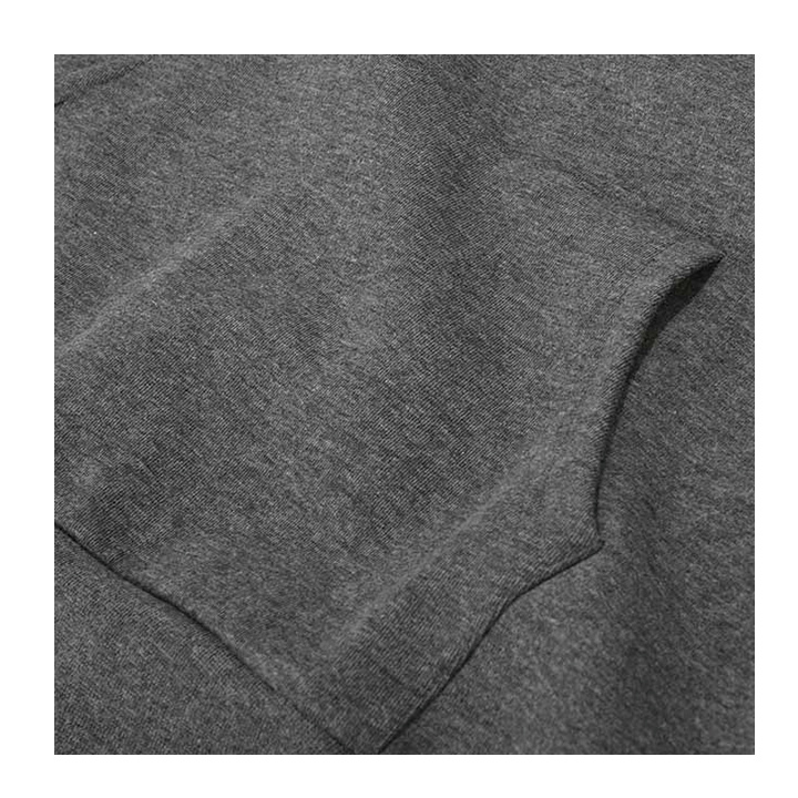 【DADA】男子字母串標連帽長T-低調灰