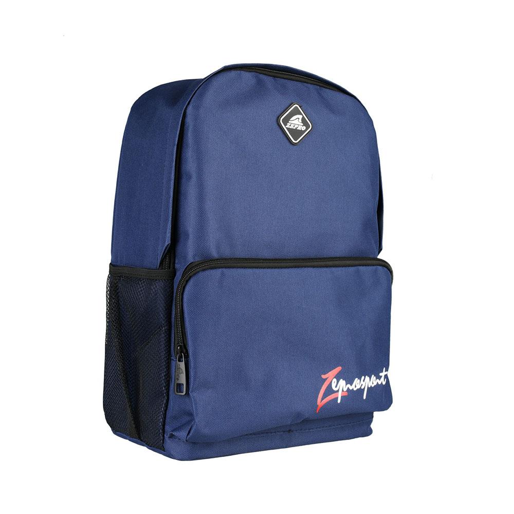 【ZEPRO】率性經典休閒後背包-時尚藍