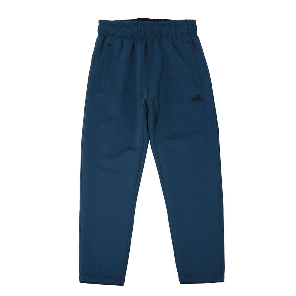 【ZEPRO】兒童百搭休閒長褲-藍綠