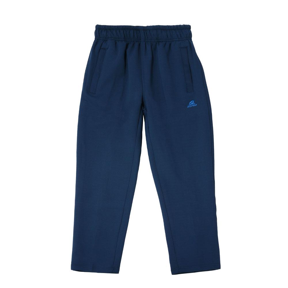【ZEPRO】兒童雙拉鍊休閒長褲-時尚藍