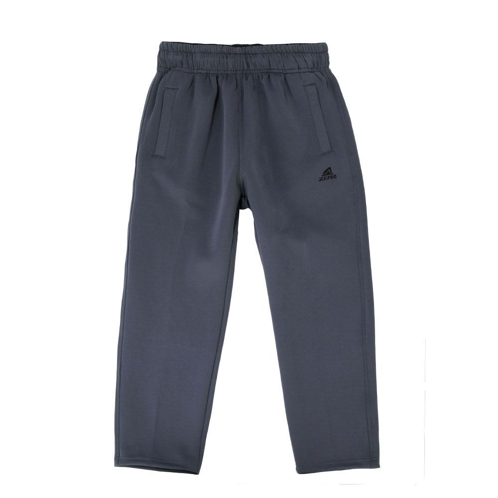 【ZEPRO】兒童雙口袋休閒長褲-鐵灰