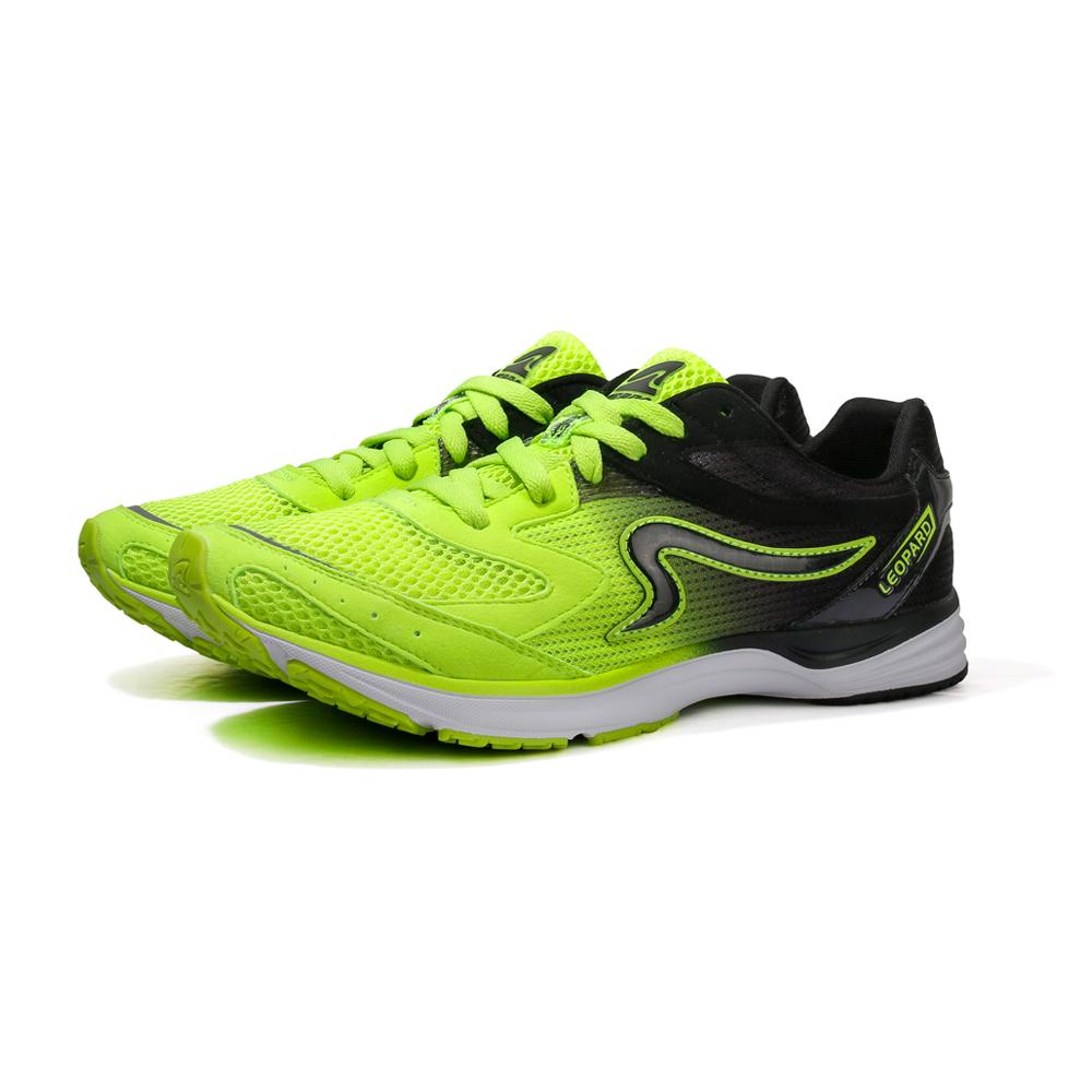 【ZEPRO】男子雲豹 LEOPARD 系列競速路跑鞋-黑黃色