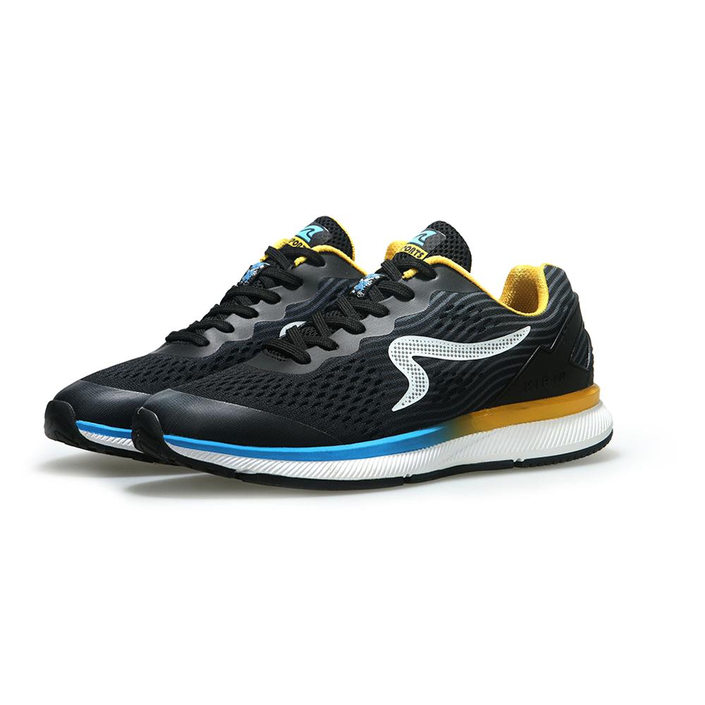 【ZEPRO】男子KIRIN系列減震耐磨運動跑鞋-湖水藍