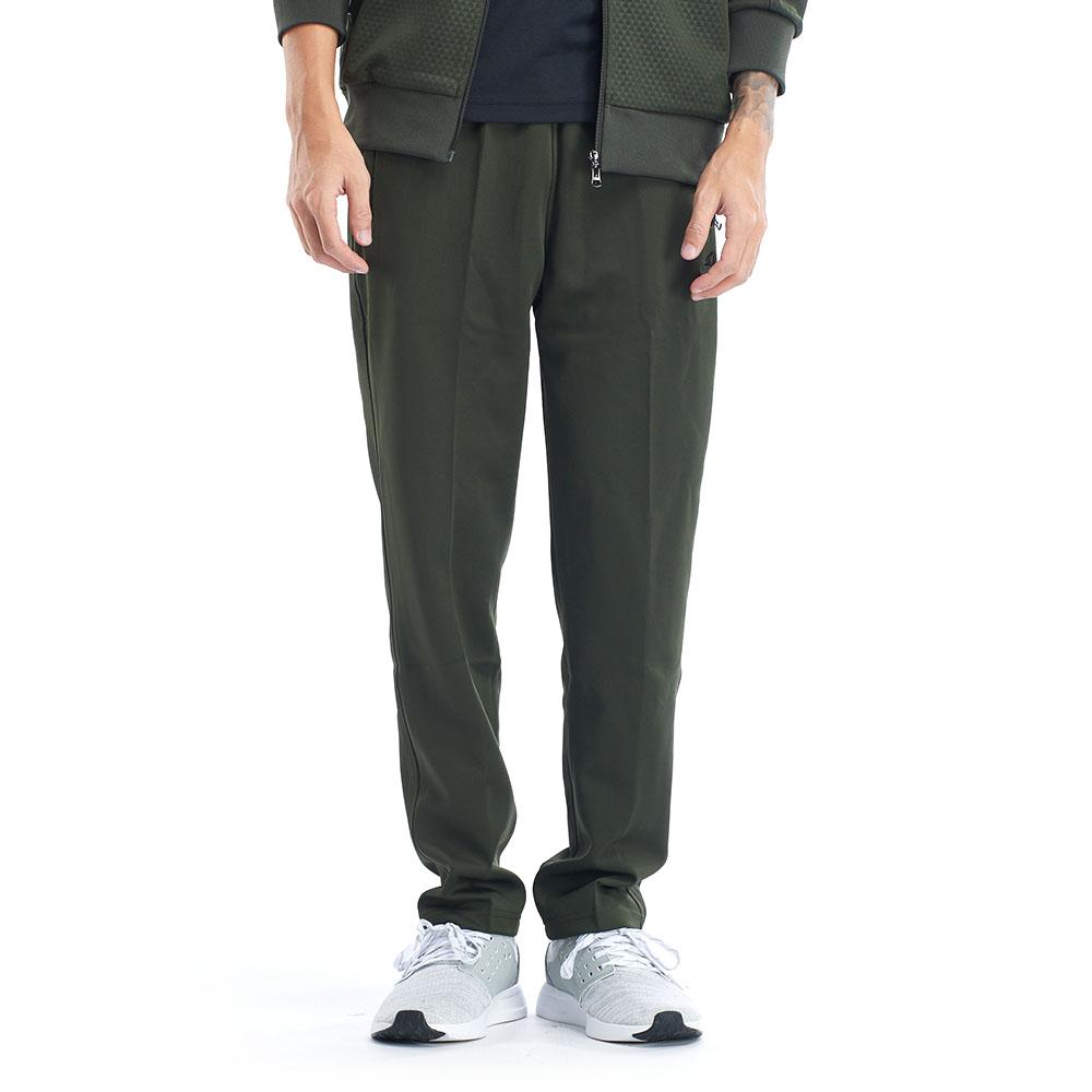【ZEPRO】男子素面休閒長褲-軍綠