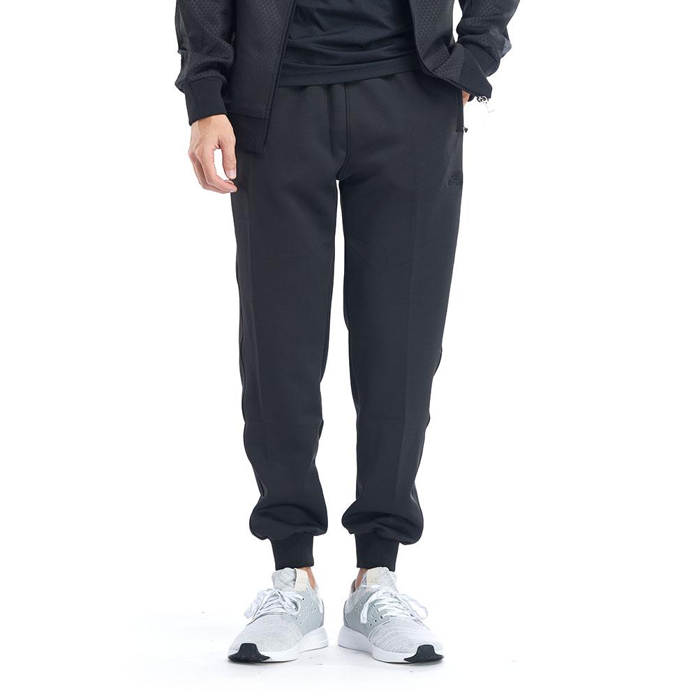 【ZEPRO】男子率性縮口休閒長褲-低調黑
