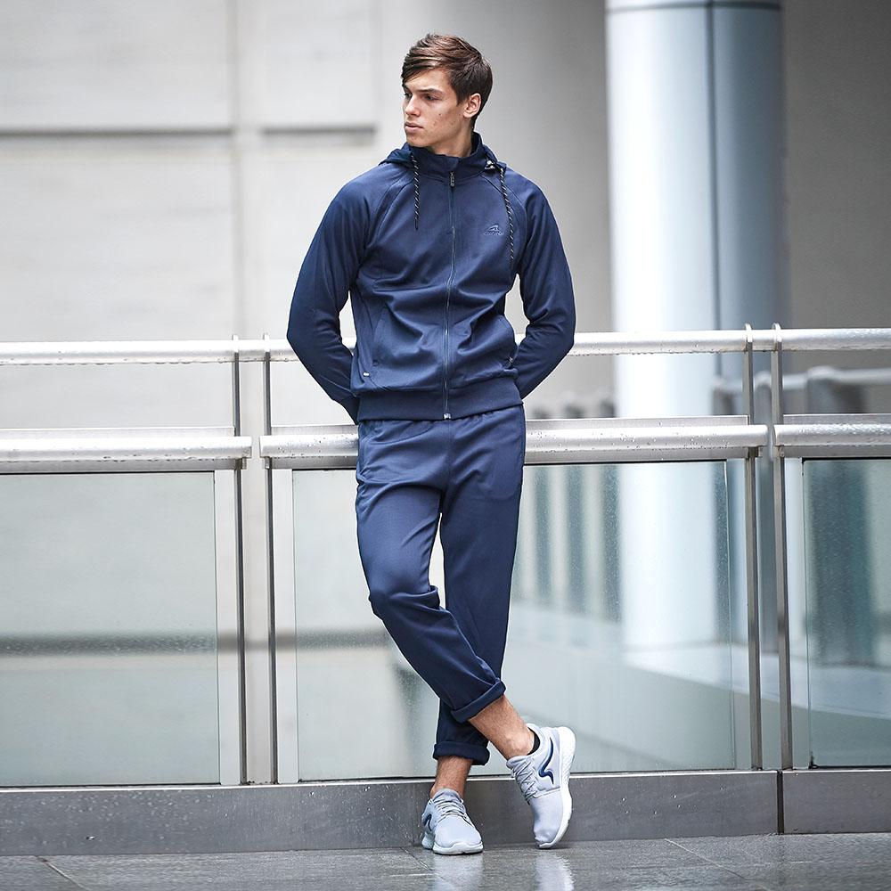 【ZEPRO】男子經典休閒長褲-海軍藍
