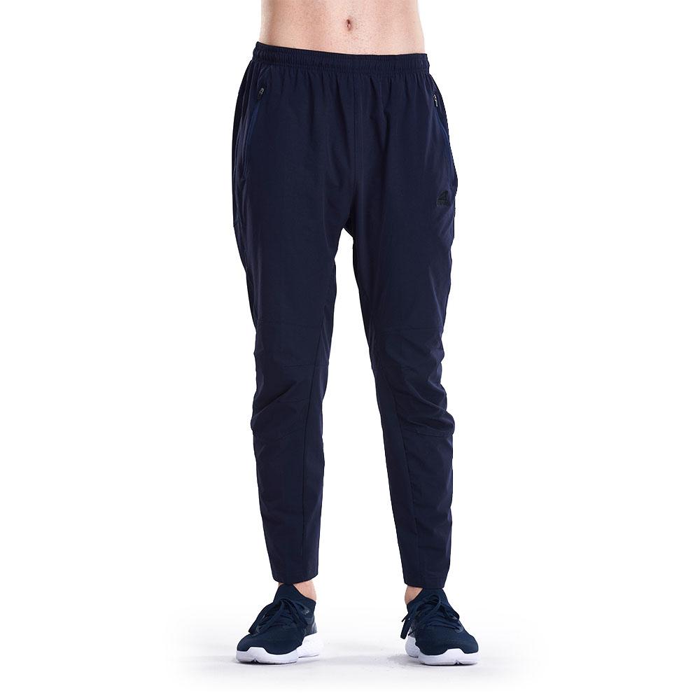 【ZEPRO】男子素面防風運動褲-深藍