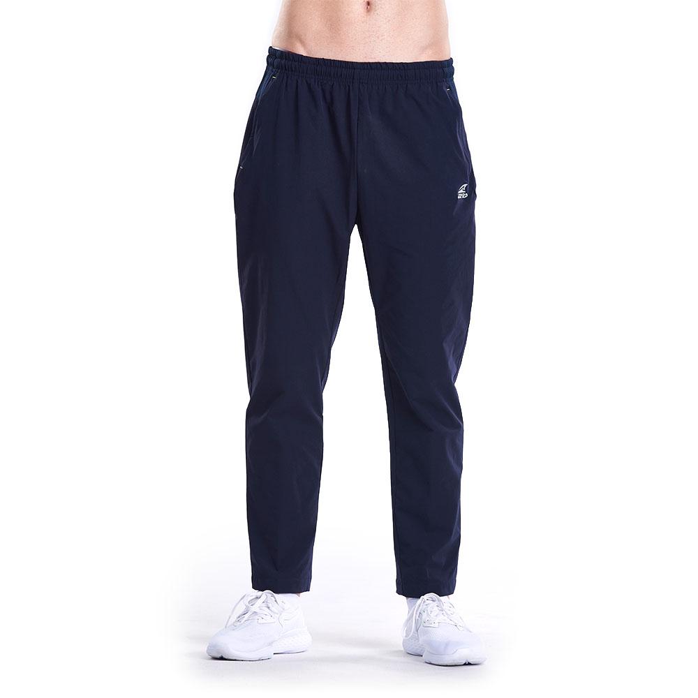 【ZEPRO】男子簡約防風運動褲-深藍