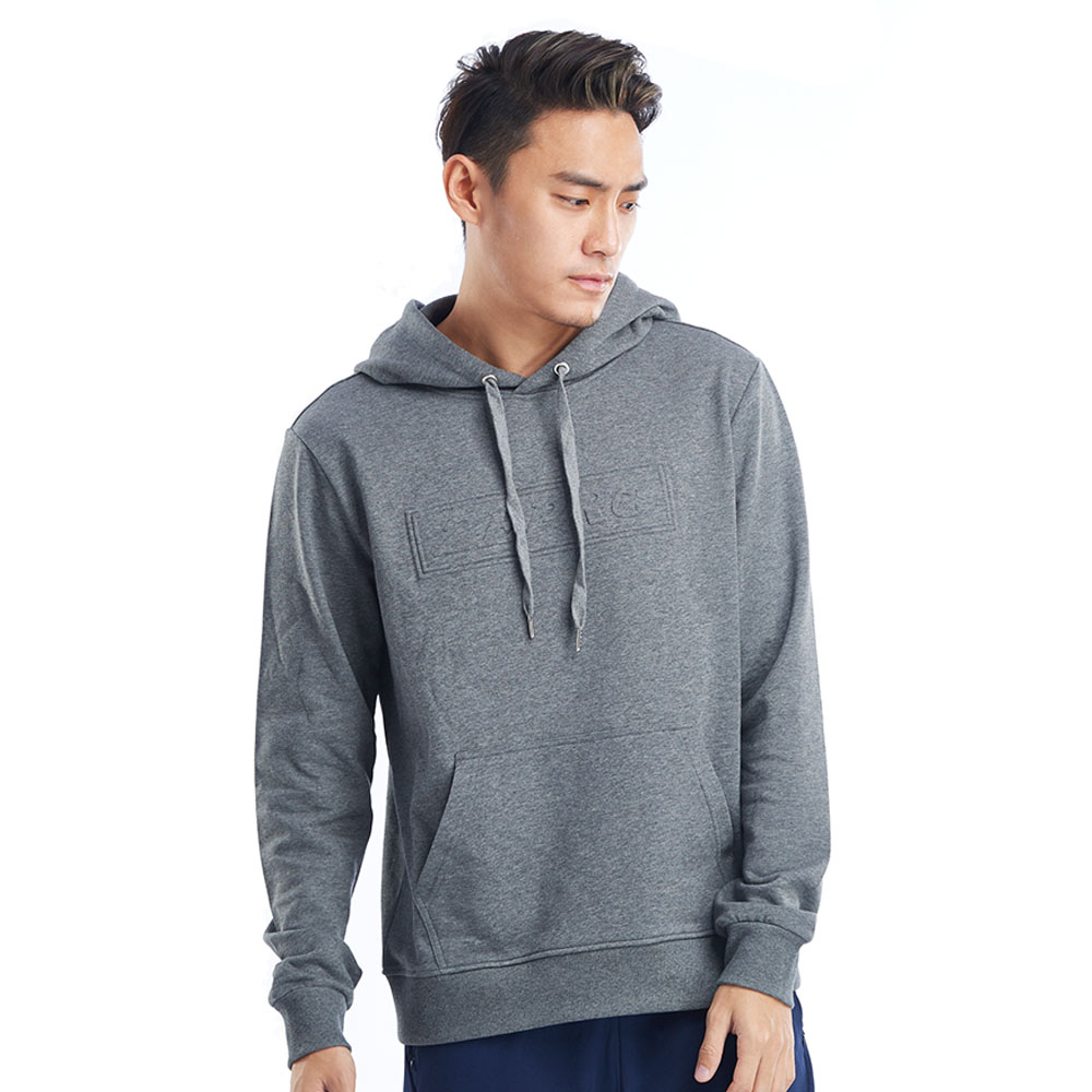 【ZEPRO】男子經典休閒連帽T-灰