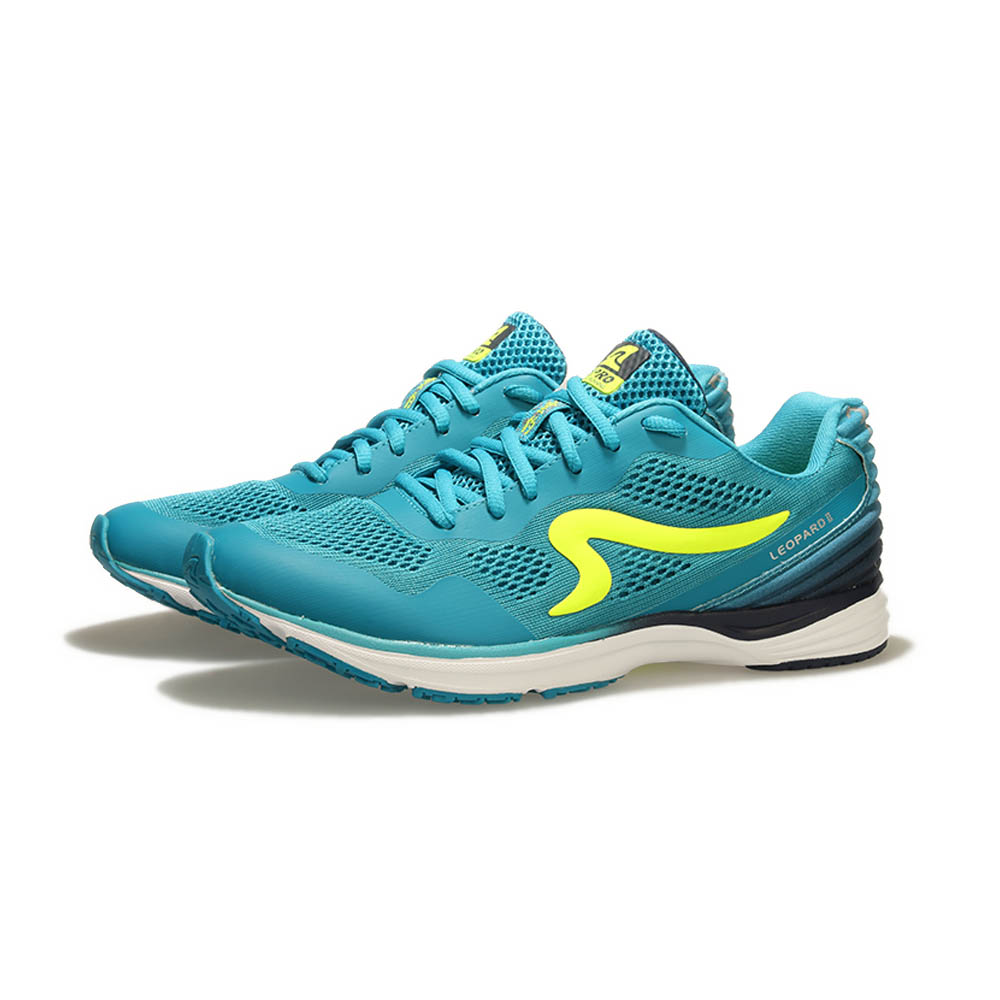 【ZEPRO】男子雲豹 LEOPARD 系列競速路跑鞋II代-光速藍