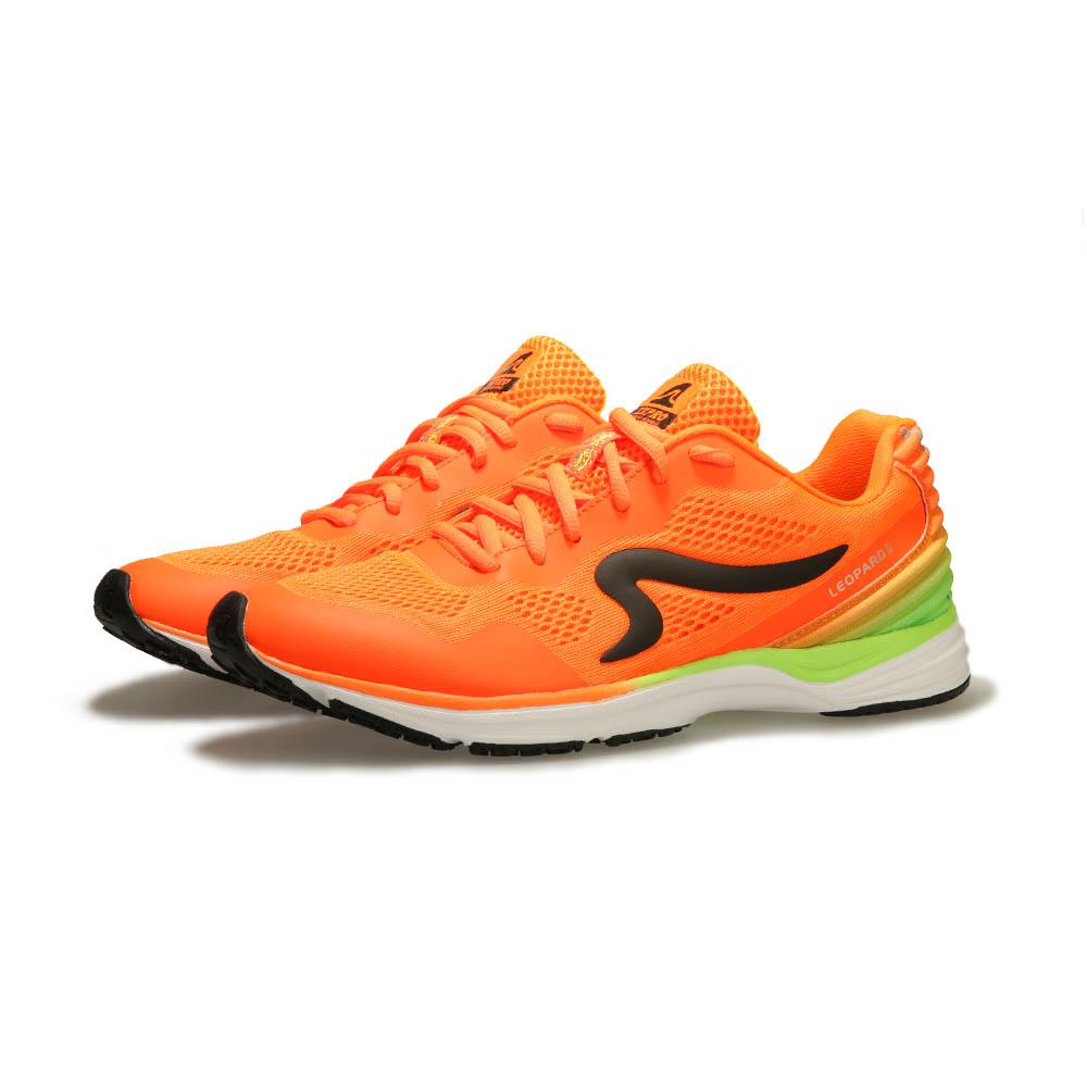 【ZEPRO】男子雲豹 LEOPARD 系列競速路跑鞋II代-閃電橘