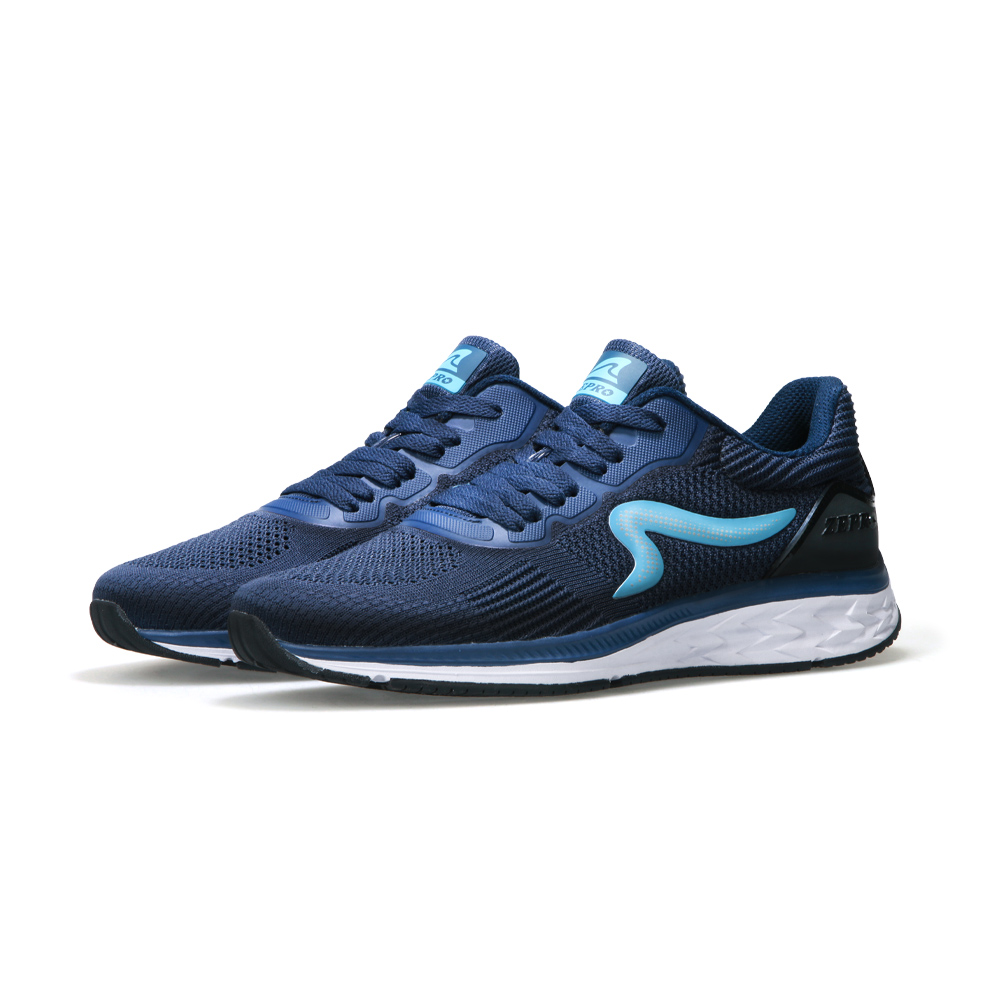 【ZEPRO】男子MOONDRAGON時尚運動跑鞋-深海藍