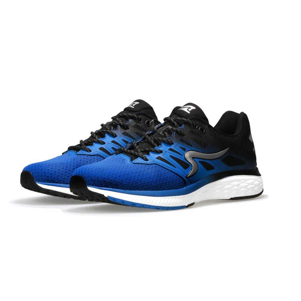 【ZEPRO】男子SHARK鯖鯊系列減震科技慢跑鞋-藍黑