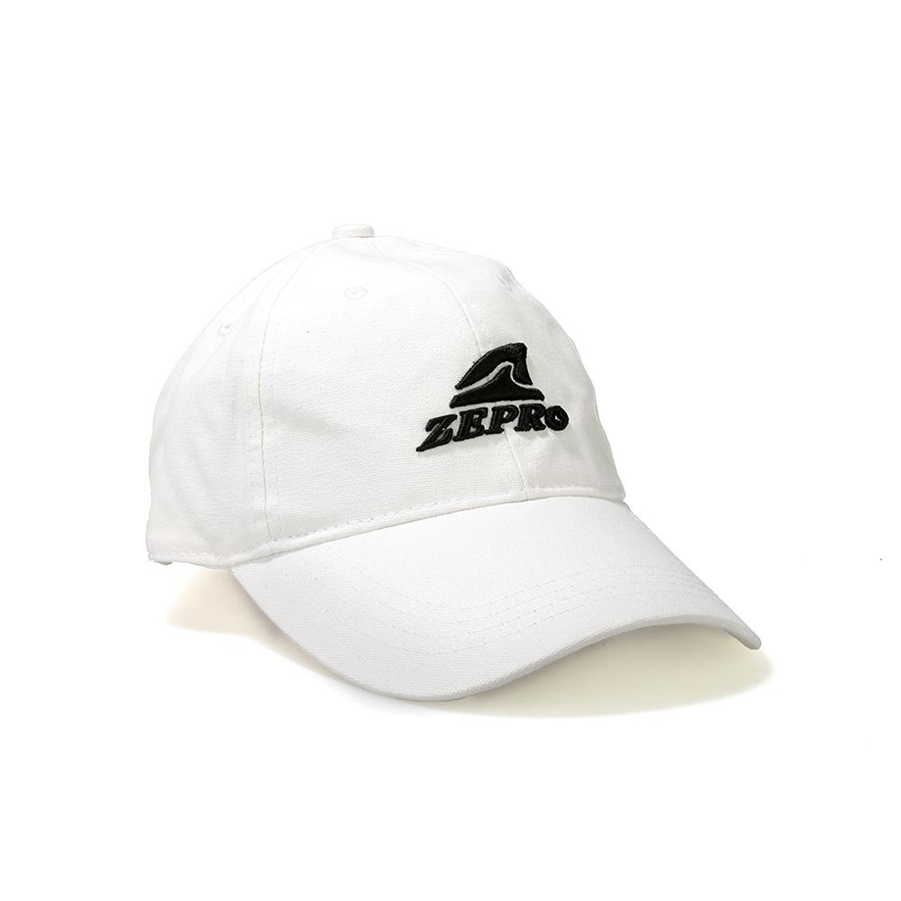 【ZEPRO】夜行者經典棒球帽-青春白
