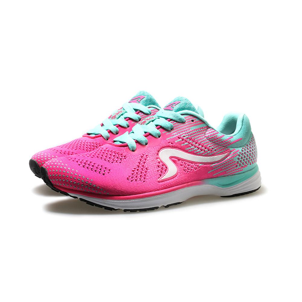【ZEPRO】女子雲豹 LEOPARD 系列競速路跑鞋-桃粉綠