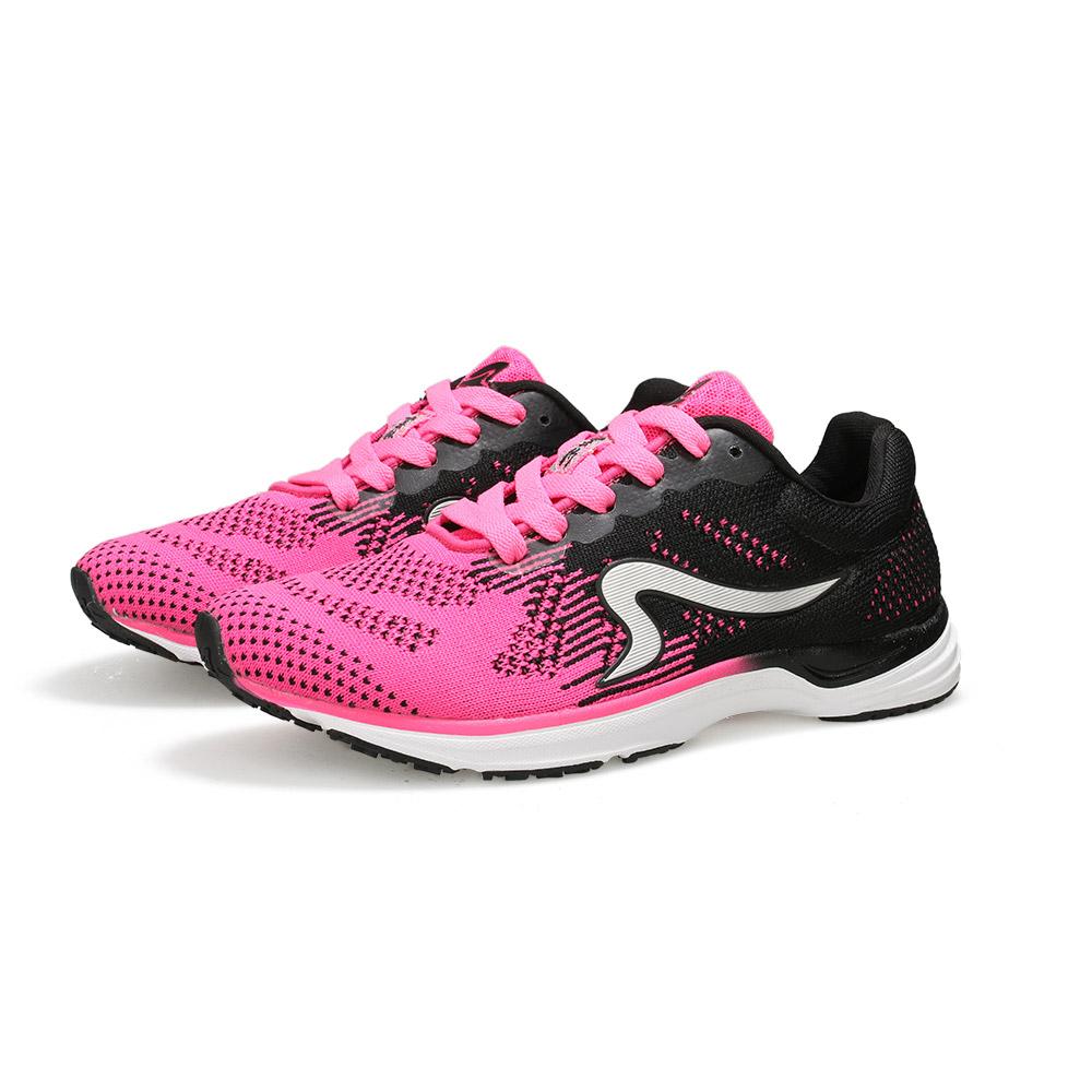 【ZEPRO】女子雲豹 LEOPARD 系列競速路跑鞋-桃粉黑