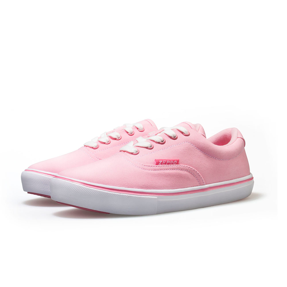 【ZEPRO】女子PD Walker系列簡約時尚休閒鞋-櫻花粉