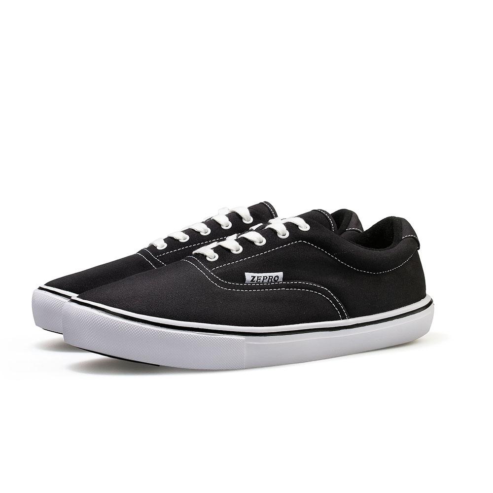 【ZEPRO】女子PD Walker系列簡約時尚休閒鞋-經典黑