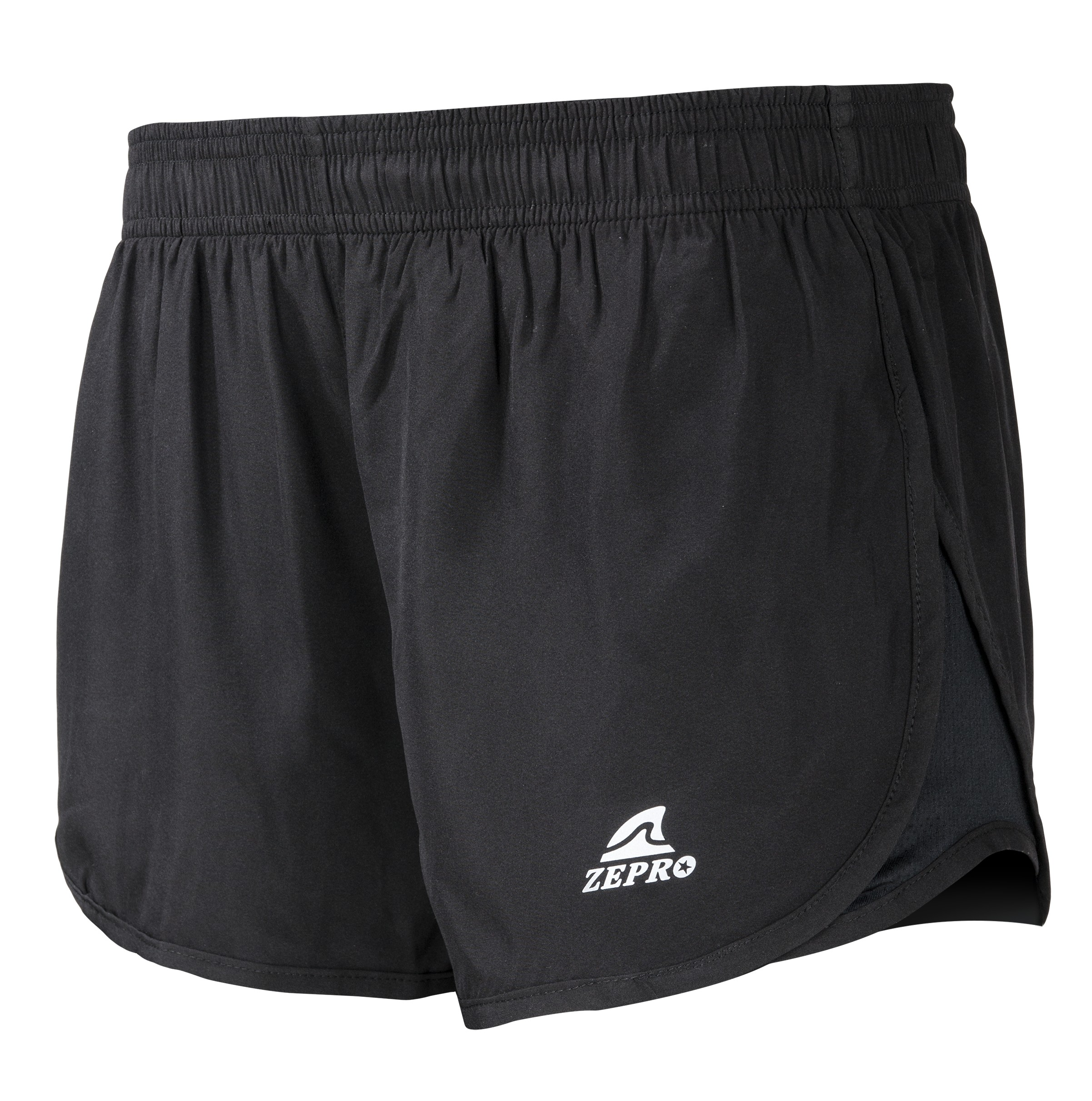 【ZEPRO】女子運動路跑短褲-經典黑
