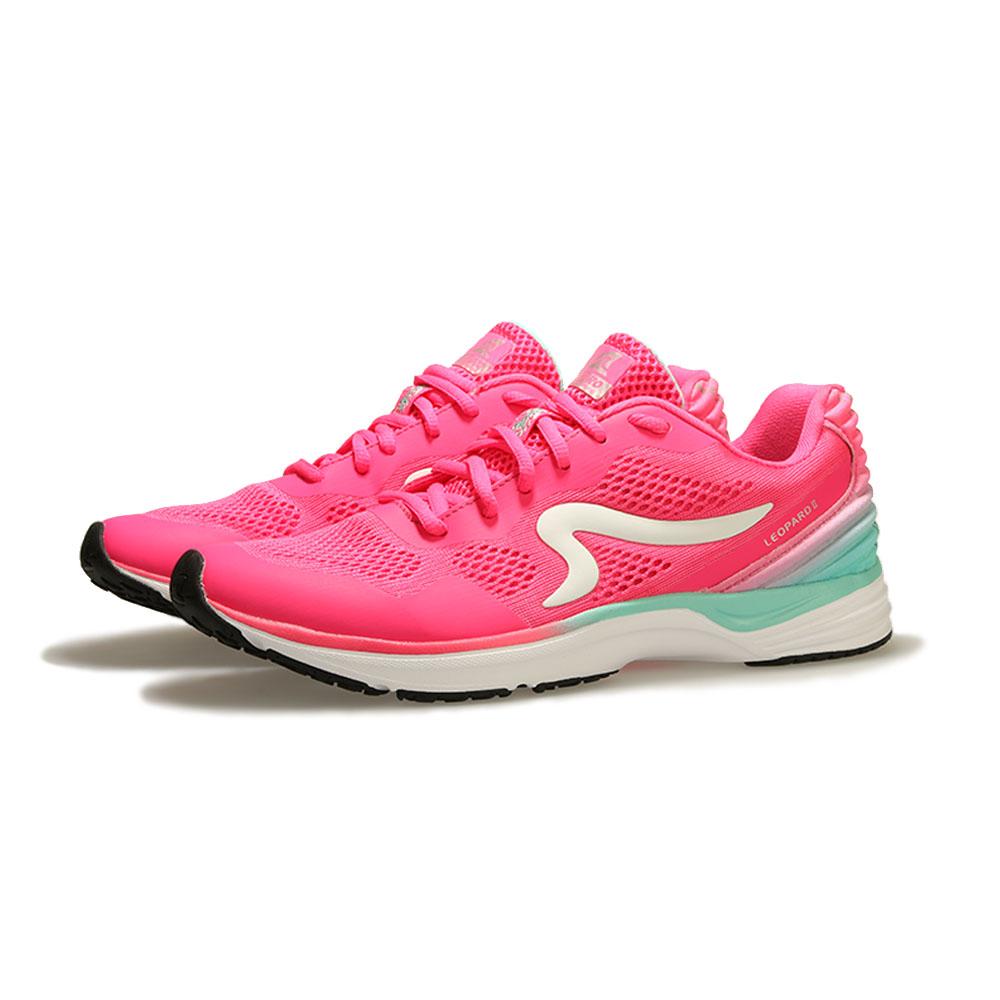 【ZEPRO】女子雲豹 LEOPARD 系列競速路跑鞋II代-蜜桃粉