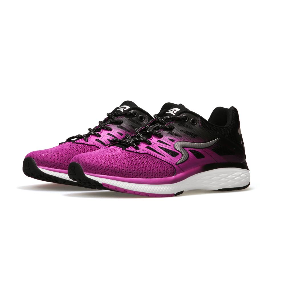 【ZEPRO】女子SHARK鯖鯊系列減震科技慢跑鞋-紫黑