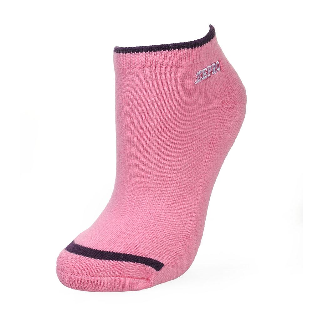 【ZEPRO】女子運動抗菌慢跑襪-粉紅